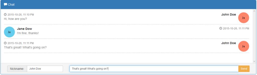 CodeIgniter Chat