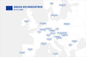 Anexia Rechenzentrumsstandorte in EU/EWR